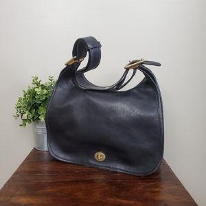 Coach Vintage Legacy Flap Crescent Shoulder Bag